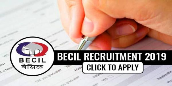 BECIL Recruitment 2019, Apply online for 3915 Skilled & Un-Skilled Manpower Vacancies