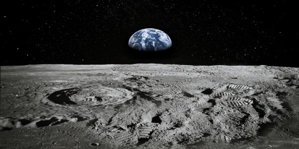 NASA discovers water on the surface of the sunlit portion of the moon