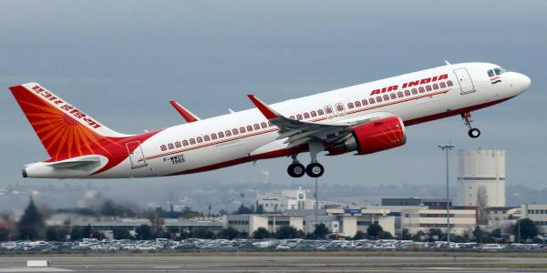 Who can fly abroad as part of India's international air travel guidelines?