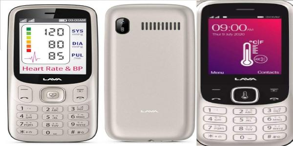Lava launches Pulse 1 feature phone with contactless thermometer at Rs 1,999